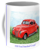 1939 Ford Standard Coupe Coffee Mug