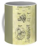 1940 Film Camera Patent Coffee Mug