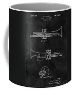 1940 Trumpet Patent Illustration Coffee Mug