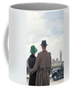 1940s Couple In London  Coffee Mug