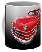 1940s Custom Chrysler New Yorker In Red Coffee Mug
