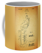 1943 Barber Apron Patent Coffee Mug
