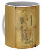 1943 Camera Flash Patent Coffee Mug