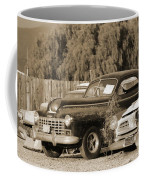 1946 Dodge In Sepia Coffee Mug