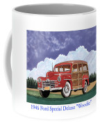 1946 Ford Woody Coffee Mug