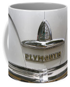 1948 Plymouth Hood Logo Coffee Mug