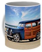 1949 Willys Woody Wagon I Coffee Mug