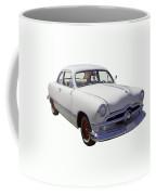 1950 Ford Custom Antique Car Coffee Mug