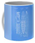 1950 Surfboard Patent Coffee Mug