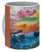1950's - In The Hopi Village Coffee Mug