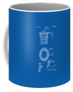 1951 Basketball Net Patent Artwork - Blueprint Coffee Mug