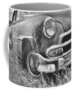 1951 Chevrolet Power Glide Black And White 2 Coffee Mug by Lisa Wooten