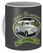 1951 Ford Truck Shields Coffee Mug