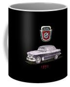 1951 Ford Two Door Sedan Tee Shirt Art Coffee Mug