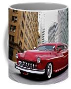 1951 Mercury 'candy Custom' Sled L Coffee Mug