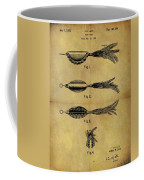 1952 Fish Lure Patent Coffee Mug