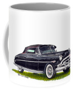 1952 Hudson Hornet Convertible Coffee Mug