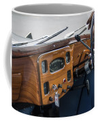 1952 Triumph Renown Limosine Instrument Panel Coffee Mug