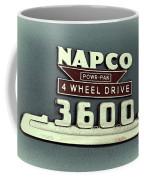 1953 Chevrolet 3600 4 X 4 Emblem Coffee Mug