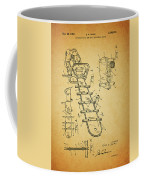 1954 Chainsaw Patent Coffee Mug