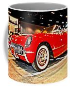 1954 Chevrolet Corvette Number 2 Coffee Mug