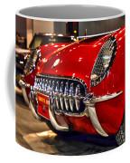 1954 Chevrolet Corvette Number 3 Coffee Mug