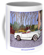 1955 Corvette Six Roadster Coffee Mug