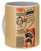 1955 Vintage Washing Powder Advert Coffee Mug