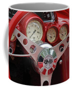 1956 Corvette Dashboard Coffee Mug