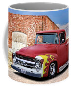 1956 Ford F100 'brickyard' Pickup Coffee Mug