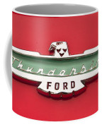 1956 Ford Thunderbird Emblem Coffee Mug