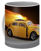 1956 Vw 'hot Rod' Bug II Coffee Mug