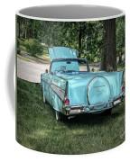 1957 Bel Air  Blue Convertible  Coffee Mug