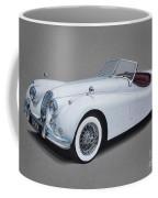 1957 Jaguar Xk140 Coffee Mug