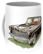 1957 Lincoln Continental Mk II Coffee Mug