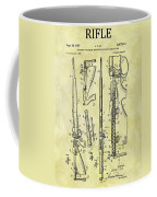 1957 Rifle Patent Coffee Mug