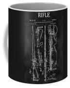 1957 Rifle Patent Illustration Coffee Mug