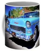 1955 Chevy Baby Blue Coffee Mug