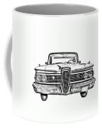 1959 Edsel Ford Ranger Illustration Coffee Mug