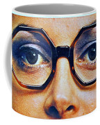 1960 70 Stylish Female Glasses Advertisement 4 Coffee Mug