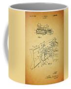 1960 Bulldozer Patent Coffee Mug