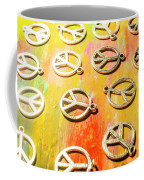 1960s Peace Movement Coffee Mug