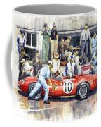 1961 Le Mans 1961 Ferrari 250 Tri Olivier Gendebien Phil Hill Winner  Coffee Mug