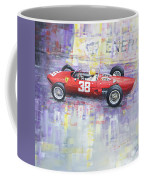 1962 Ricardo Rodriguez Ferrari 156 Coffee Mug
