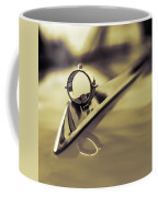 1964 Ford Galaxie 500 Xl Hood Ornament - Sepia Coffee Mug