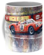 1964 Lemans 24 Ferrari 275p Ludovico Scarfiotti  Coffee Mug