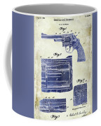 1964 Smith And Wesson Gun Patent Two Tone Coffee Mug