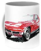 1965 Corvette Coffee Mug