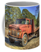 1965 Ford F600 Snub Nose Commercial Truck Coffee Mug