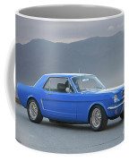1965 Ford Mustang 'blue Coupe' I Coffee Mug